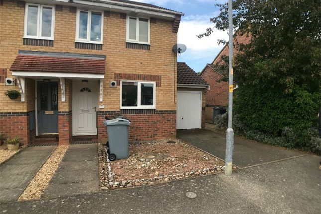Thumbnail Semi-detached house to rent in Buttercup Court, Deeping St James, Peterborough, Lincolnshire