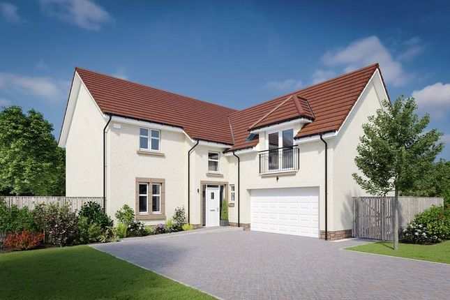"Thumbnail Detached house for sale in ""The Melville"" at Dalmahoy Crescent, Balerno"