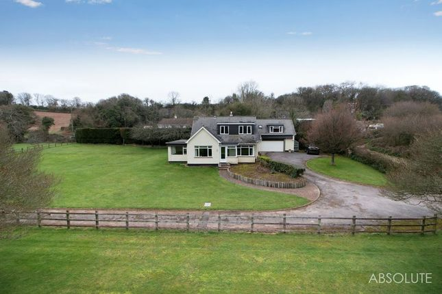 Thumbnail Equestrian property for sale in Kiln Road, Marldon, Paignton