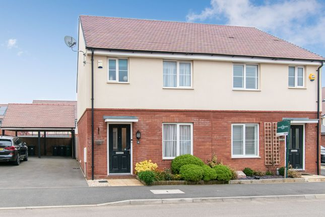 Thumbnail Semi-detached house for sale in Herberts Meadow, Clifton, Shefford