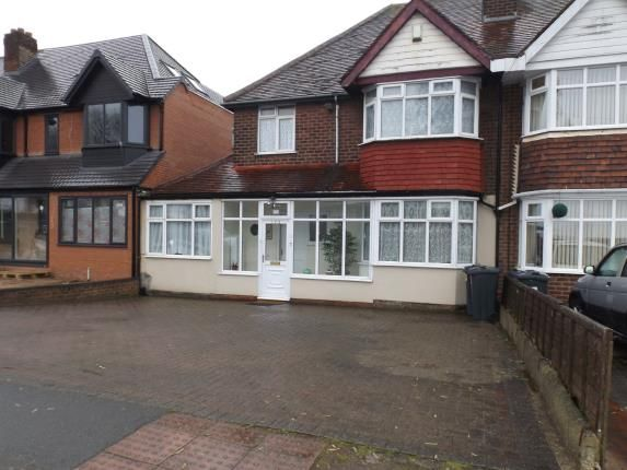 Thumbnail Semi-detached house for sale in Bromford Road, Birmingham, West Midlands