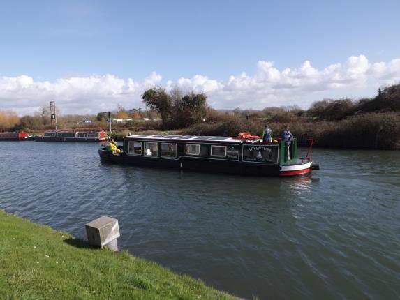 Canal of Church Lane, Saul, Gloucester, Gloucestershire GL2