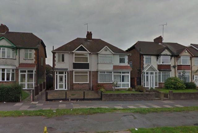 Thumbnail Semi-detached house to rent in Chester Road, Three Bedroom Semi Detached, Erdington