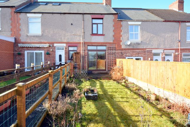 Thumbnail Terraced house for sale in Eldon Bank, Eldon, Bishop Auckland