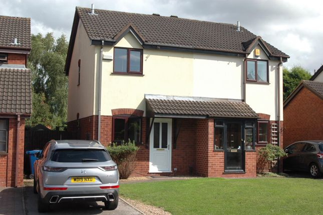 Thumbnail Semi-detached house to rent in Haymoor, Lichfield