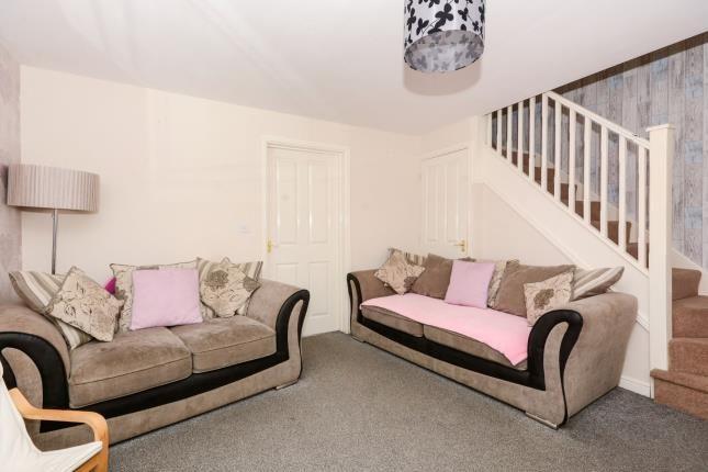 Living Room of East Street, Warsop Vale, Mansfield, Nottinghamshire NG20