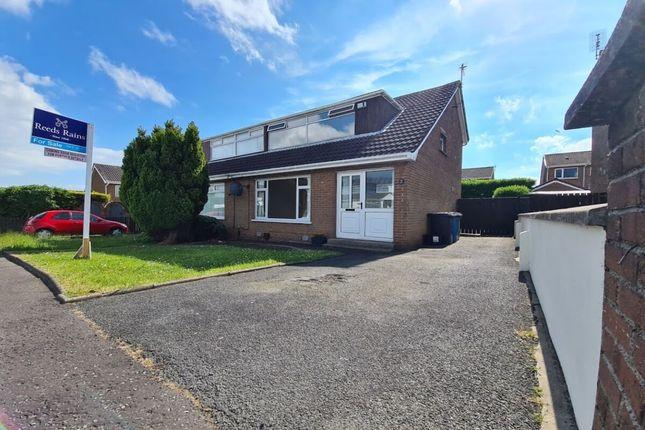 Thumbnail Semi-detached house for sale in Kilmaine Road, Bangor