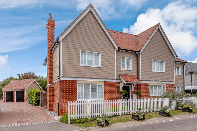 Thumbnail Detached house for sale in Bicknacre Road, East Hanningfield, Chelmsford