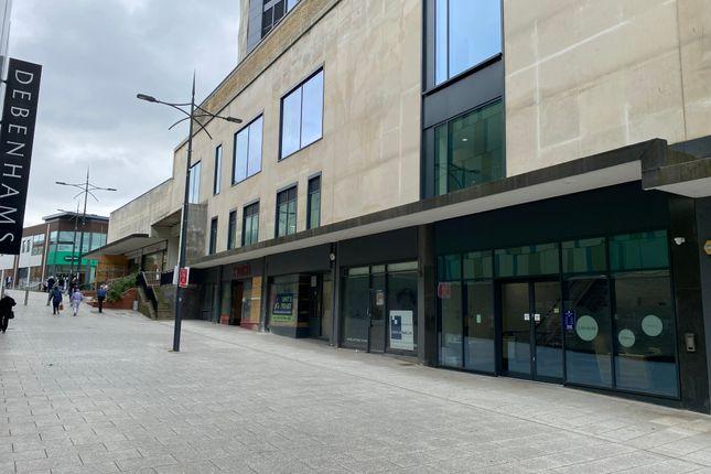 Retail premises to let in Upper Dock Street, Newport
