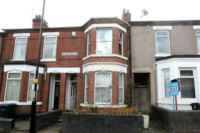 3 bed terraced house for sale in Broomfield Road, Earlsdon, Coventry