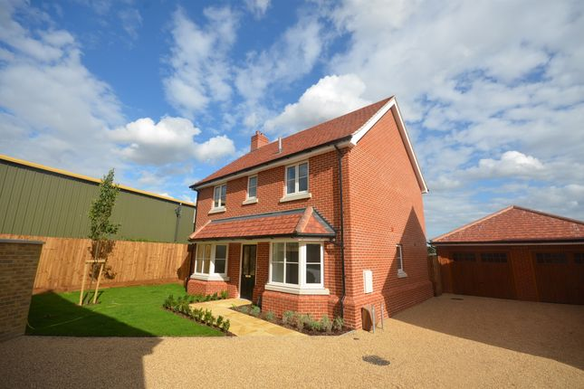 Thumbnail Detached house for sale in Green Gates, Main Road, Great Leighs, Chelmsford