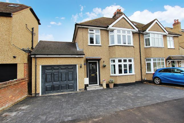 Thumbnail Semi-detached house for sale in Cemmaes Court Road, Boxmoor, Hertfordshire
