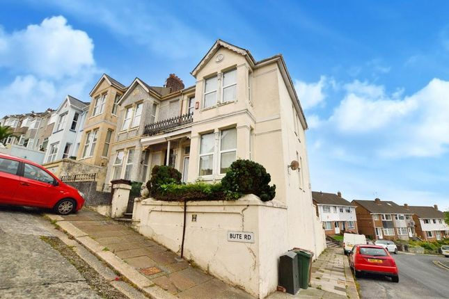 Thumbnail End terrace house for sale in Bute Road, Plymouth, Devon