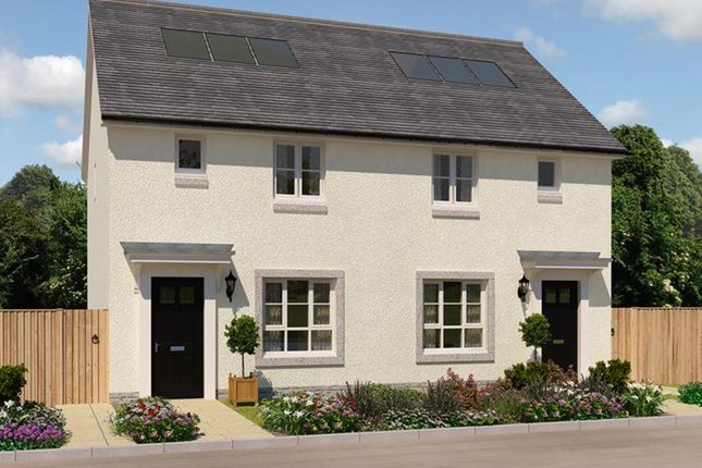 """Thumbnail Semi-detached house for sale in """"Wemyss"""" at County Cottages, Culduthel, Inverness"""