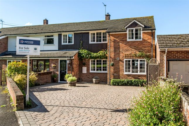 Thumbnail Semi-detached house for sale in Kings Elms, Barton Stacey, Winchester, Hampshire
