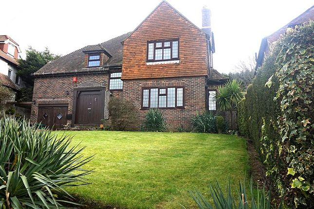 Thumbnail Detached house for sale in Hill Drive, Hove, East Sussex