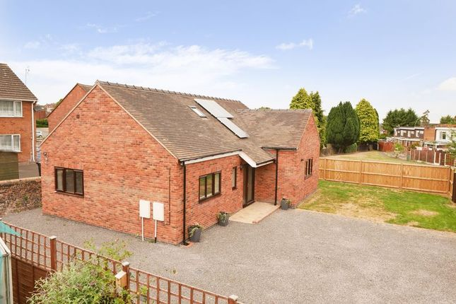 Thumbnail Detached bungalow for sale in Bridgnorth Road, Broseley