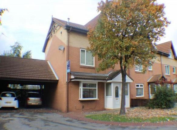 Thumbnail End terrace house to rent in Hazel Court, Middlesbrough