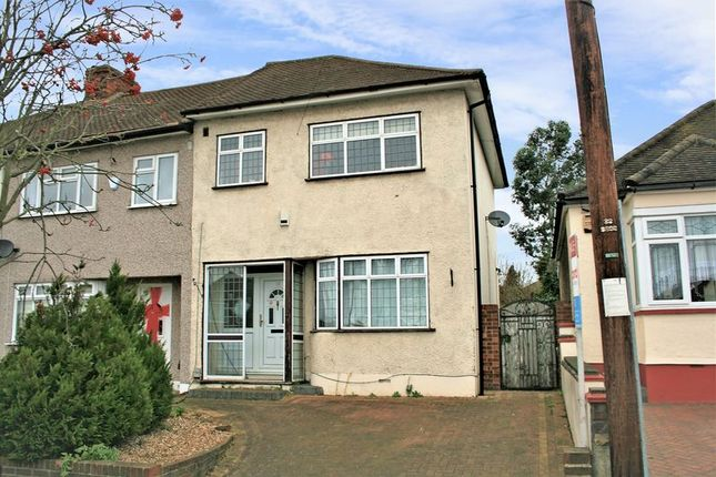 Thumbnail Terraced house for sale in Hillfoot Road, Romford