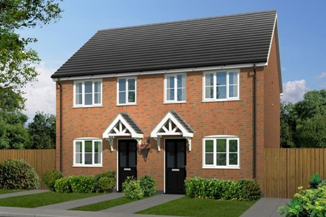 Thumbnail Semi-detached house for sale in Weaver Green, Melton Mowbray