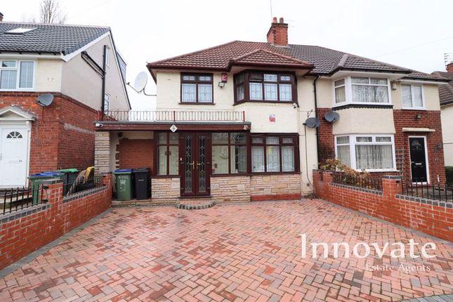 2 bed semi-detached house for sale in Broadmoor Avenue, Oldbury B68