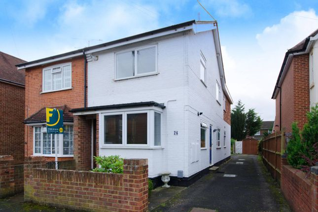 Thumbnail Flat for sale in Abbey Road, Horsell