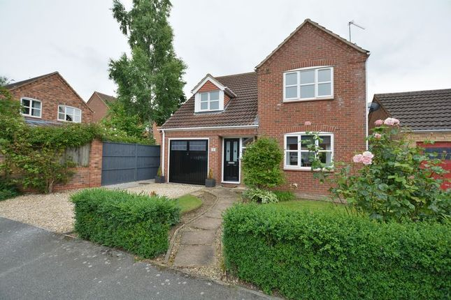 4 bed detached house for sale in Northfield Rise, Saxilby, Lincoln