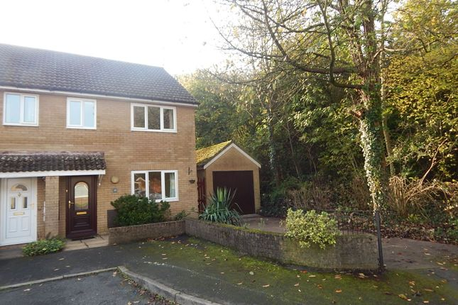 Thumbnail Semi-detached house to rent in The Brades, Caerleon, Newport