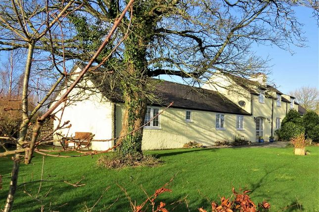Thumbnail Detached house for sale in Talwrn, Llangefni