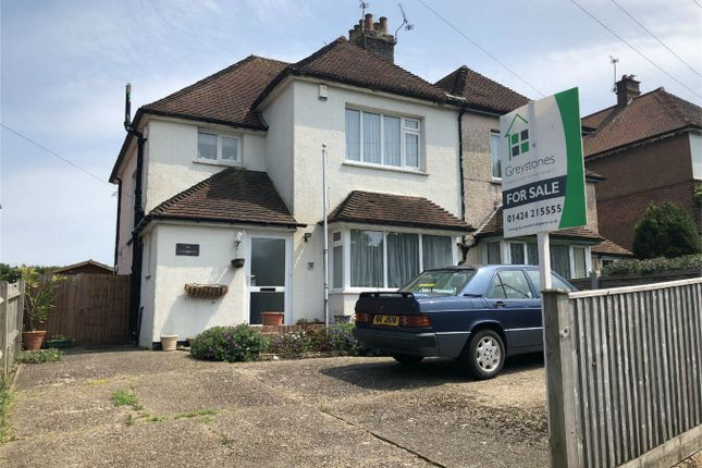 Thumbnail Semi-detached house for sale in Holliers Hill, Bexhill On Sea, East Sussex