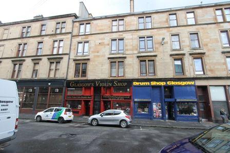 Flat to rent in Blackie Street, Glasgow