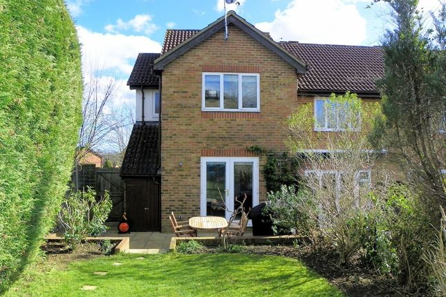 Thumbnail Semi-detached house for sale in Broad Hinton, Twyford