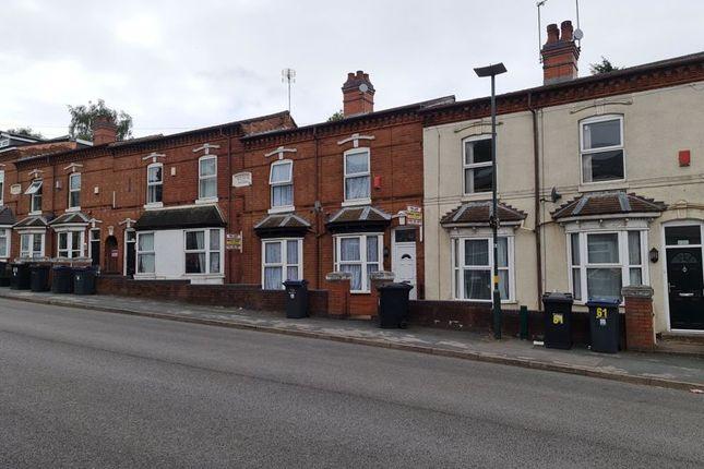 Thumbnail Terraced house for sale in Development Site, Harrow Road, Selly Oak, Birmingham