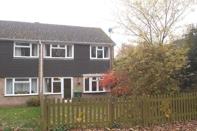 Thumbnail End terrace house for sale in Towns End Road, Sharnbrook, Bedfordshire