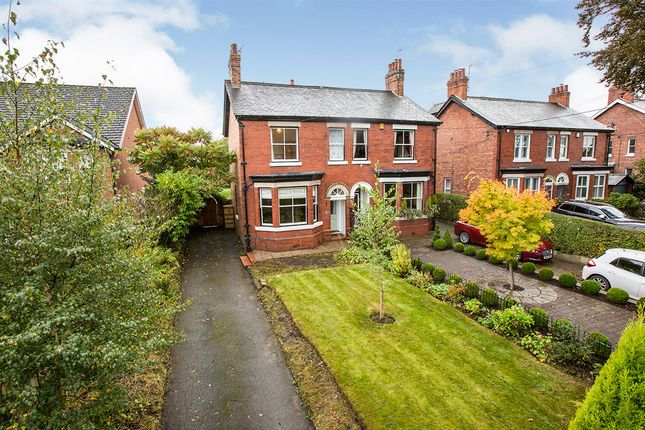 Thumbnail Semi-detached house for sale in Main Road, Goostrey, Crewe, Cheshire