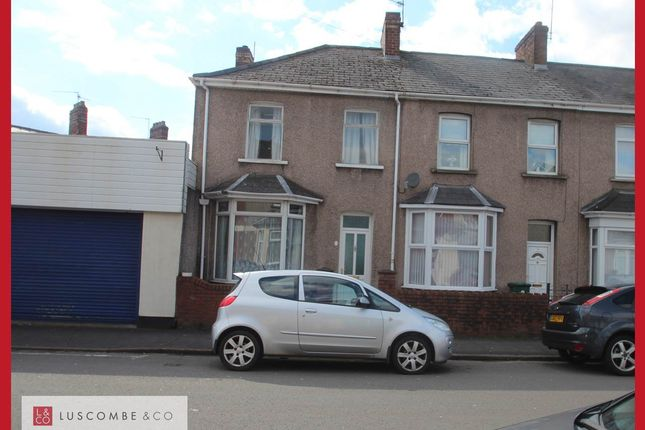 Thumbnail End terrace house to rent in Durham Road, Newport