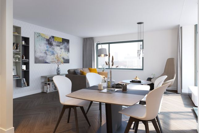Thumbnail Flat for sale in Plot 12, - Square, Minerva Street, Glasgow
