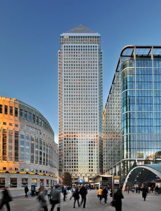 Office to let in One Canada Square Canary Wharf, London