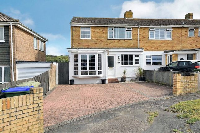 4 bed end terrace house for sale in Headland Close, Peacehaven BN10