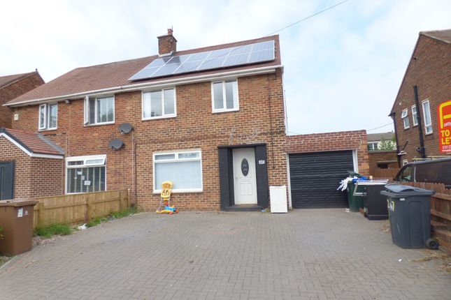 Thumbnail Semi-detached house to rent in Cragside Avenue, North Shields