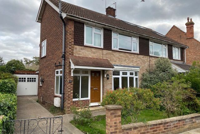 Thumbnail Semi-detached house to rent in Beverley Crescent, Bedford