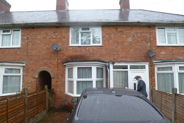 Thumbnail Terraced house for sale in Overton Road, Birmingham