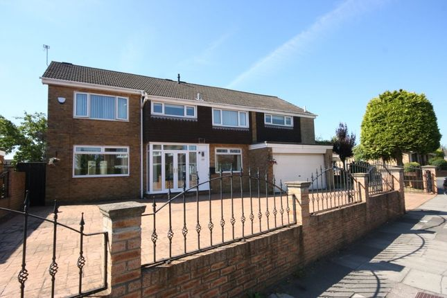 Thumbnail Detached house for sale in Hall Drive, Middlesbrough