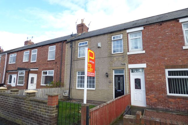 Thumbnail Terraced house to rent in Park Road, Ashington