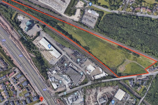 Thumbnail Land for sale in Bellshill Road, Uddingston, Glasgow