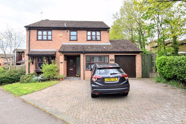 Thumbnail Detached house for sale in Gatcombe, Great Holm, Milton Keynes