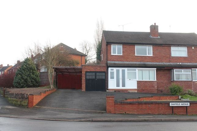 Thumbnail Semi-detached house for sale in Oakfield Avenue, Kingswinford