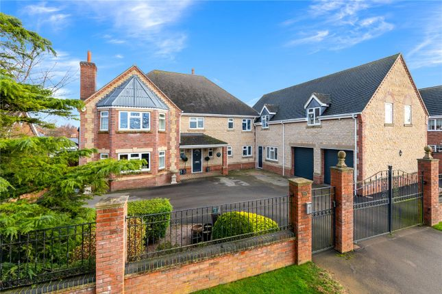 5 bed detached house for sale in Leasingham Lane, Ruskington, Sleaford NG34