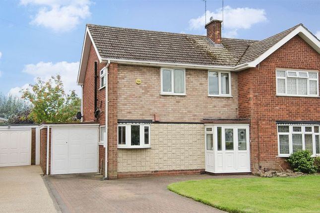 Thumbnail Semi-detached house for sale in Woodside Way, Willenhall