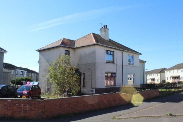 Thumbnail End terrace house to rent in Beggs Terrace, Ardrossan, Ayrshire KA22,